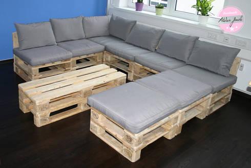 Loungemöbel aus Paletten von agentur jonda | homify