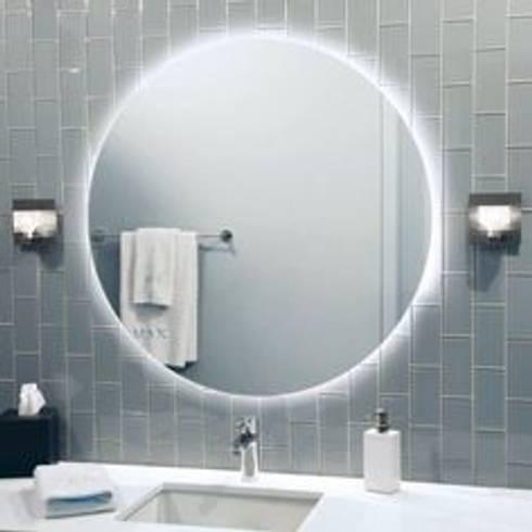 Espejos con iluminaci n led de oikos design homify for Espejos con iluminacion