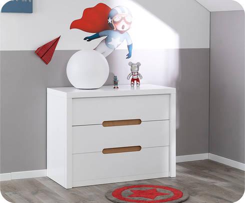Chambre enfant bow blanche par ma chambre d 39 for Chambre enfant blanche