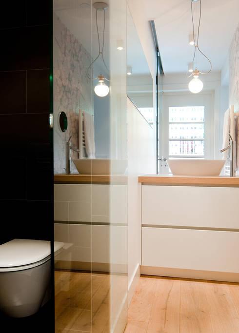 Woonhuis Utrecht:  Badkamer door ontwerpplek, interieurarchitectuur