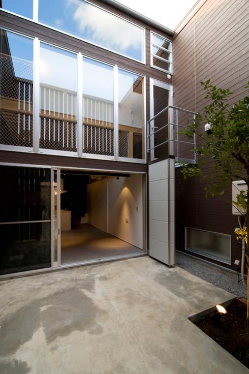 sora: 【快適健康環境+Design】森建築設計が手掛けた庭です。