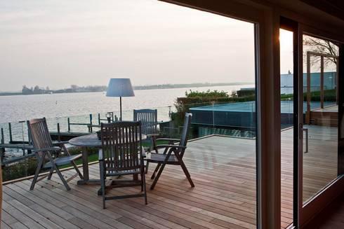 Balkon met glazen balustrade von buys glas homify