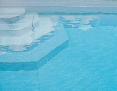 Piscina color Bizancio Azul RENOLIT ALKORPLAN3000: Piscinas de estilo minimalista de RENOLIT Ibérica