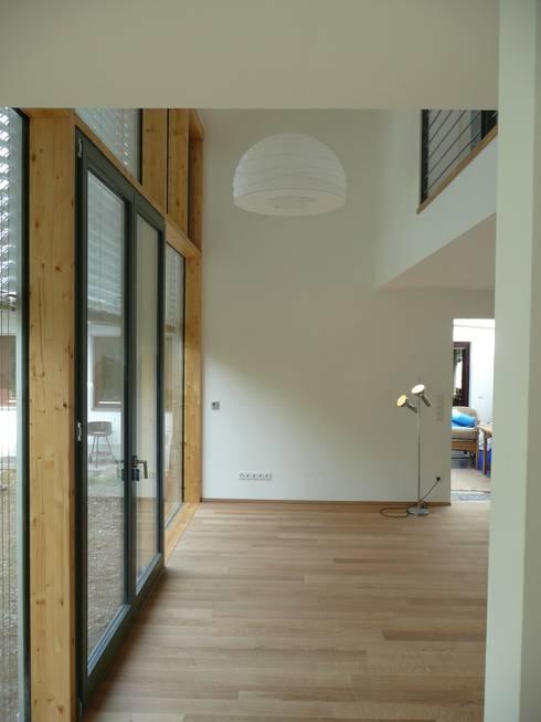 Projekty,  Salon zaprojektowane przez waldorfplan architekten