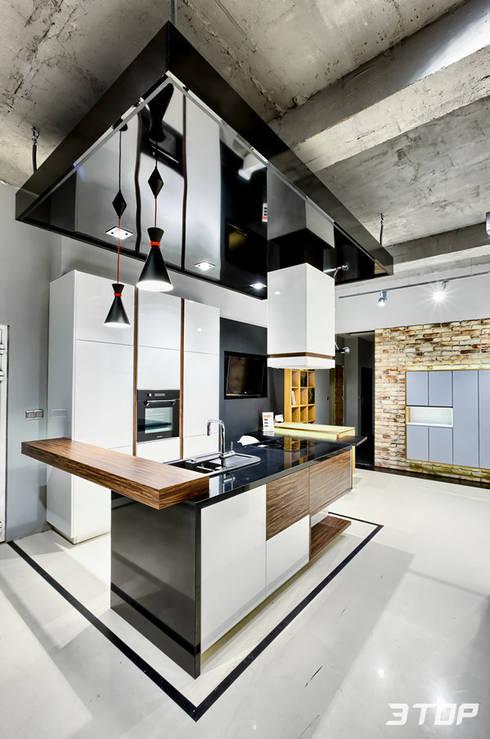 Meble na wymiar - studio mebli i projektowania wnętrz Marki-Warszawa: styl , w kategorii Kuchnia zaprojektowany przez 3TOP