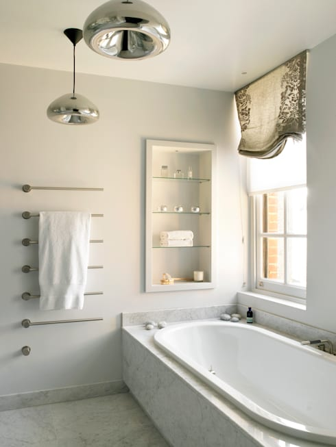 Bathroom:  Bathroom by Holloways of Ludlow Bespoke Kitchens & Cabinetry