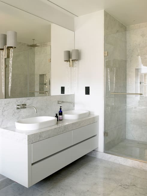 modern Bathroom by Holloways of Ludlow Bespoke Kitchens & Cabinetry
