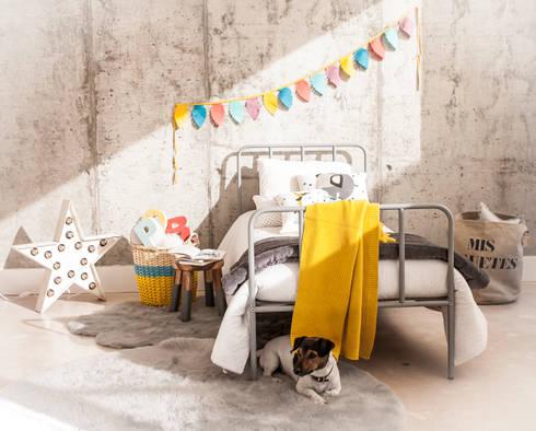 Cama de estilo industrial para niños y adultos : Dormitorios de estilo industrial de BEL AND SOPH