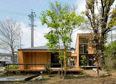 庭: IBC DESIGNが手掛けた家です。