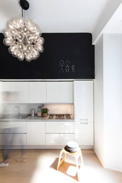Cocinas de estilo  de Studio Tenca & Associati