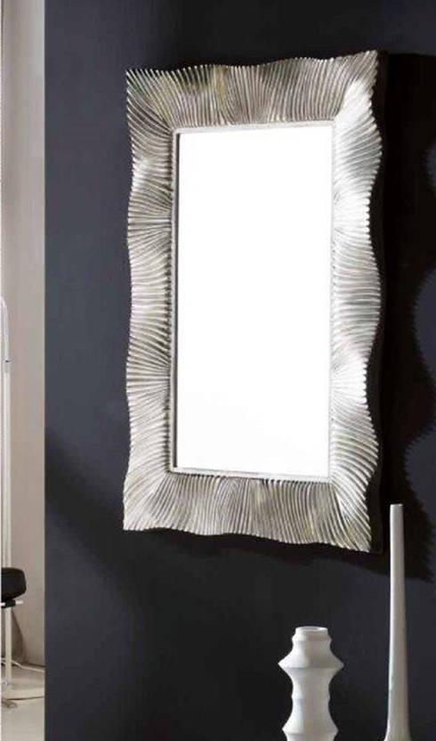Espejos de cristal moderno de decoracion gimenez homify - Espejos con marco plateado ...