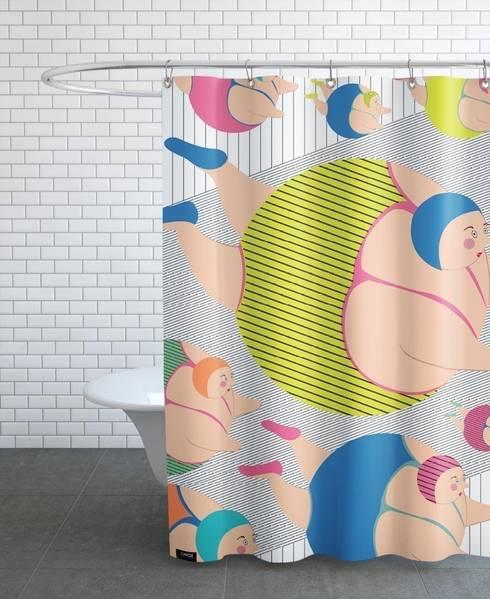 modern Bathroom by JUNIQE