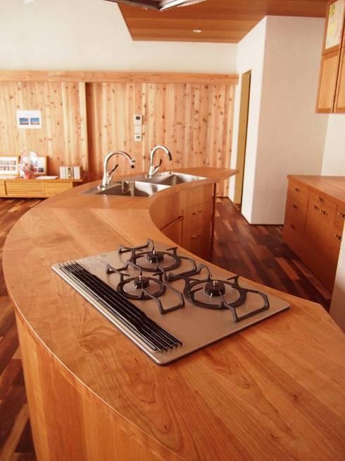 industrial Kitchen by 家具工房旅する木