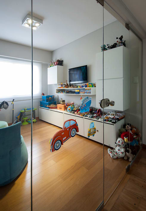 modern Nursery/kid's room by Estudio Sespede Arquitectos