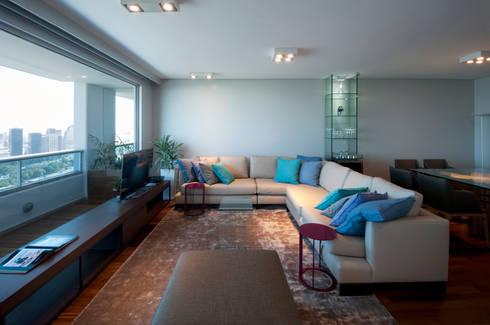 Puerto Madero: Livings de estilo moderno por Estudio Sespede Arquitectos