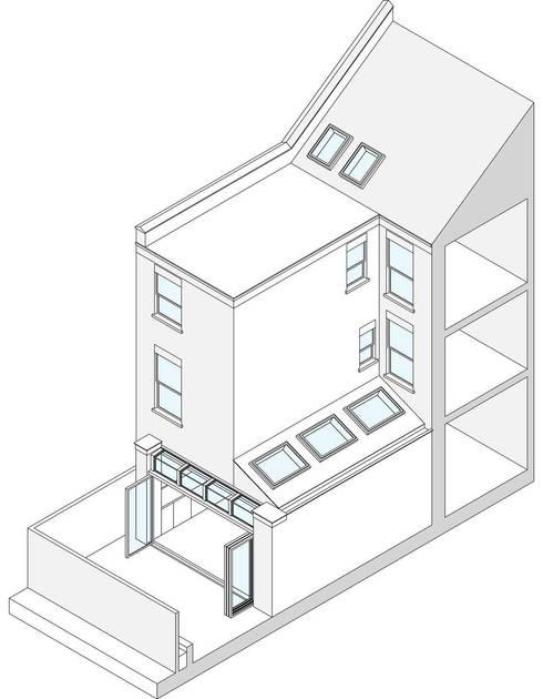 Kitchen by Bradley Van Der Straeten Architects