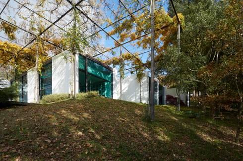 Casa I: Casas modernas por A. BURMESTER ARQUITECTOS