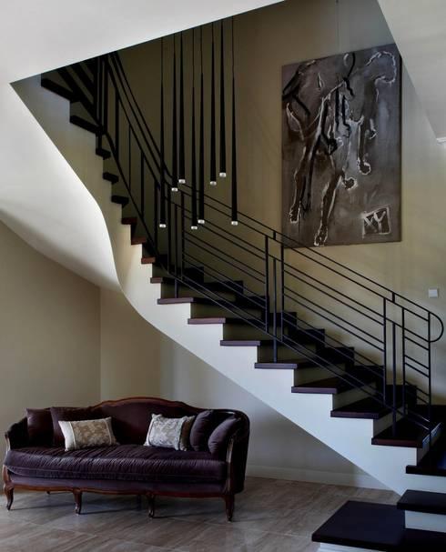 Willa Wrocław: styl , w kategorii Korytarz, przedpokój zaprojektowany przez ASA Autorskie Studio Architektury