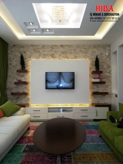 Phòng khách by Hiba iç mimari ve dekorasyon