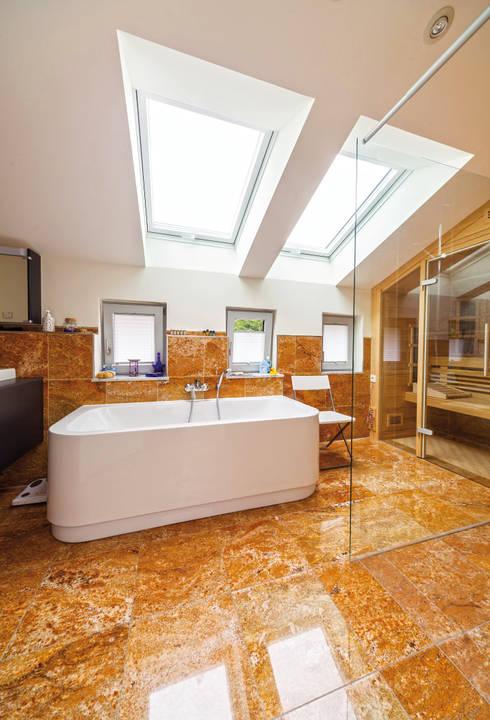 mediterranean Bathroom by Haacke Haus GmbH Co. KG