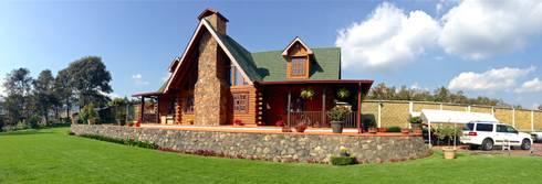 Cabaña Tiamba: Casas de estilo clásico por info5937