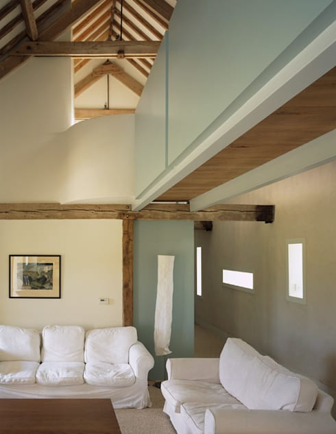 Quaker Barns:  Terrace by Hudson Architects