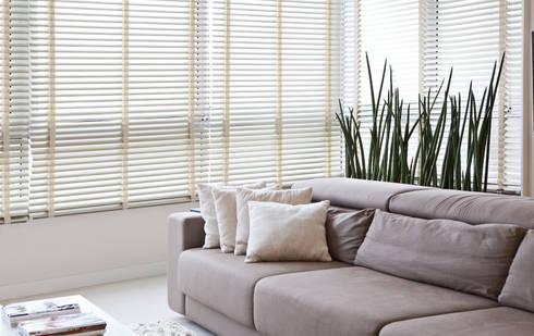 Estar: Salas de estar modernas por Virtu Arquitetura