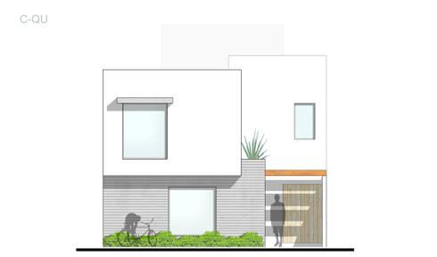 Representación arquitectónica 2D: Casas de estilo moderno por ODRACIR
