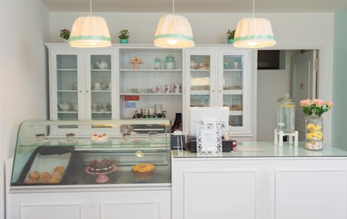 2ToMoments - Casa de Chá: Escritórios e Espaços de trabalho  por Ângela Pinheiro Home Design