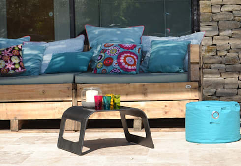 canap s in outdoor r cup 39 lulu par sandrine veyrunes cloarec homify. Black Bedroom Furniture Sets. Home Design Ideas