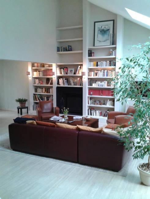 Salas de estar  por Franck Égard Décoration Intérieur