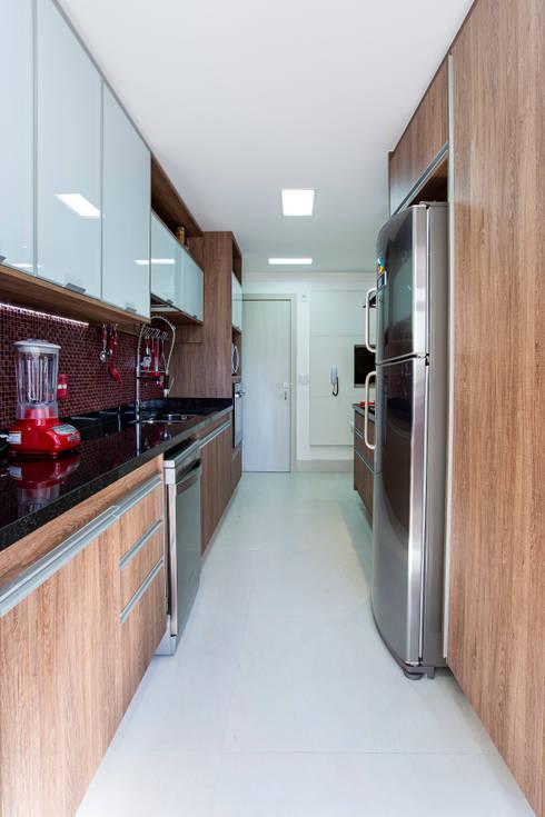 cozinha finalizada:  de estilo  por 2d arquitetura decoração e design