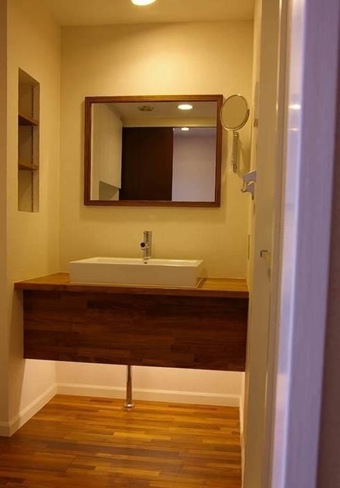 マンションリフォーム 千葉(千葉 習志野): Style is Still Living ,inc.が手掛けた浴室です。