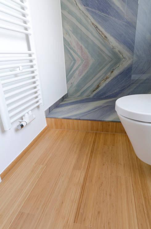 bambus stabparkett in k che und bad von bambus komfort. Black Bedroom Furniture Sets. Home Design Ideas