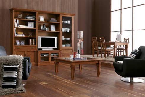 muebles para televisor y equipo de sonido modernos