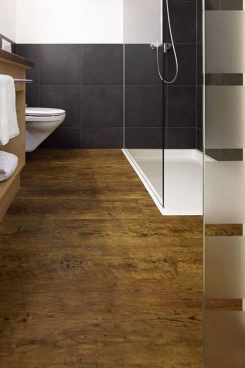 Ba os suelos y paredes de suelos y paredes sin obras homify - Suelo vinilico para bano ...