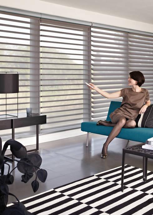 Visillo Silhouette Gradulux: Hogar de estilo  de Luxaflex Concept Store