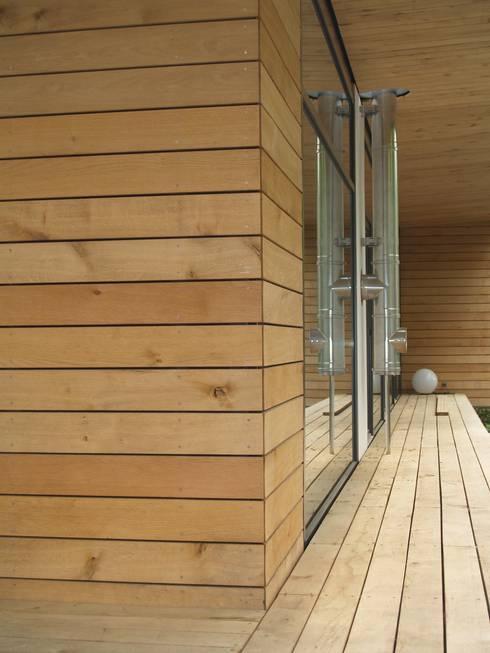 Einfamilienhaus Neubau: moderne Häuser von Cousin Architekt - Ökotekt