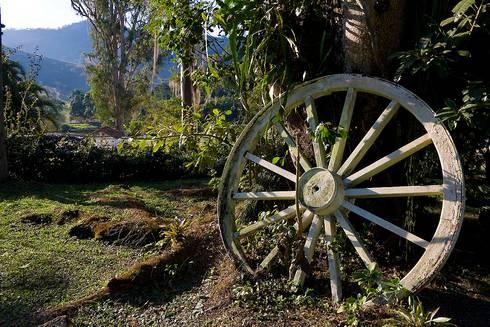 Paisagismo Rural: Jardins tropicais por Laura Mourão Arquitetura da Paisagem