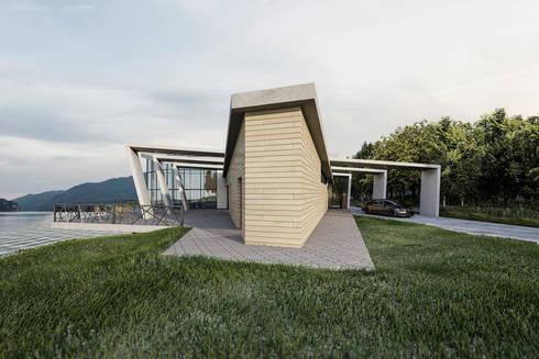 Casa sul lago di ab photo and graphics homify for Costruire una casa sul lago