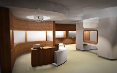 GIOIELLERIA F: Negozi & Locali commerciali in stile  di Nau Architetti