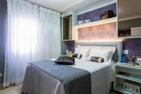 Suite Master: Quartos  por Lo. interiores