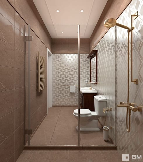 Bathroom by GM-interior