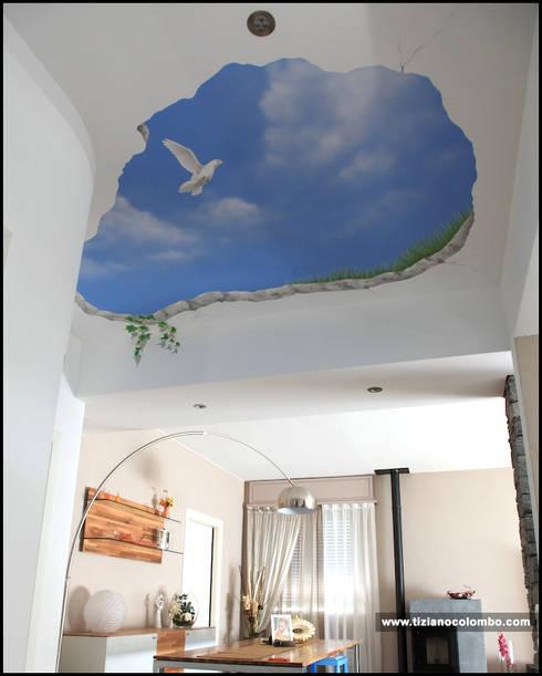 tiziano colombo의  벽 & 바닥