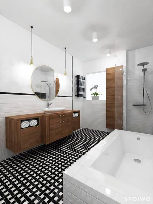 Baños de estilo clásico por SPOIWO studio