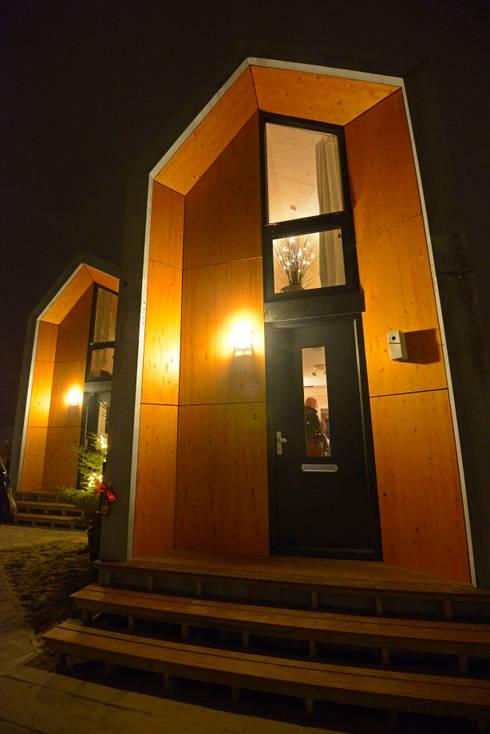 Heijmans ONE: minimalistische Huizen door MoodBuilders