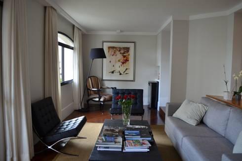 Sala de Estar: Salas de estar modernas por Compondo Arquitetura