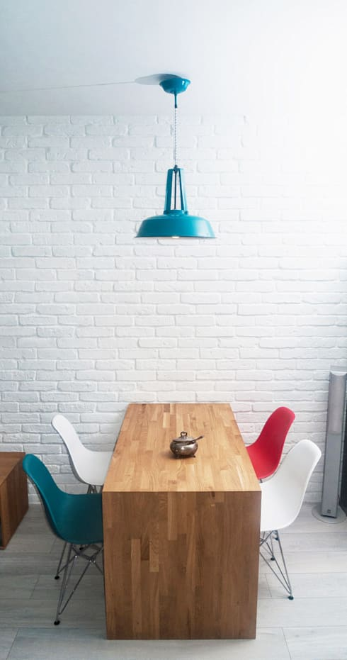 Jadalnia Prądnik Biały: styl , w kategorii Jadalnia zaprojektowany przez SPOIWO studio