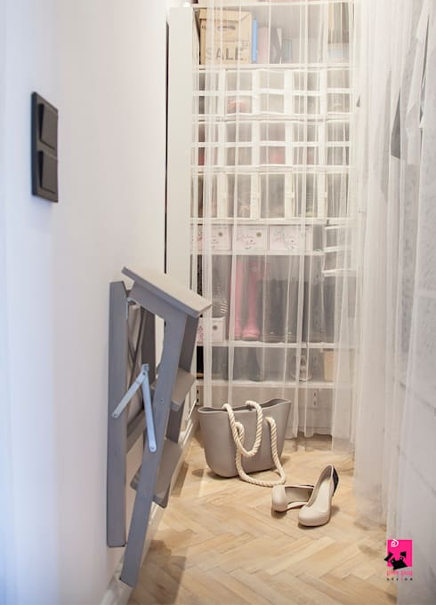Closets  por Pink Pug Design Interior