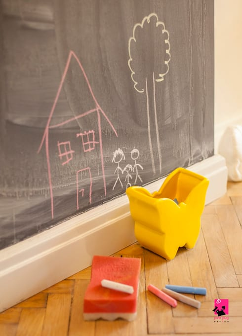 Hol: styl , w kategorii Korytarz, hol i schody zaprojektowany przez Pink Pug Design Interior